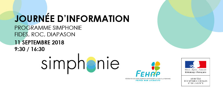 Journée d'information SIMPHONIE,le 11 septembre 2018 à Paris